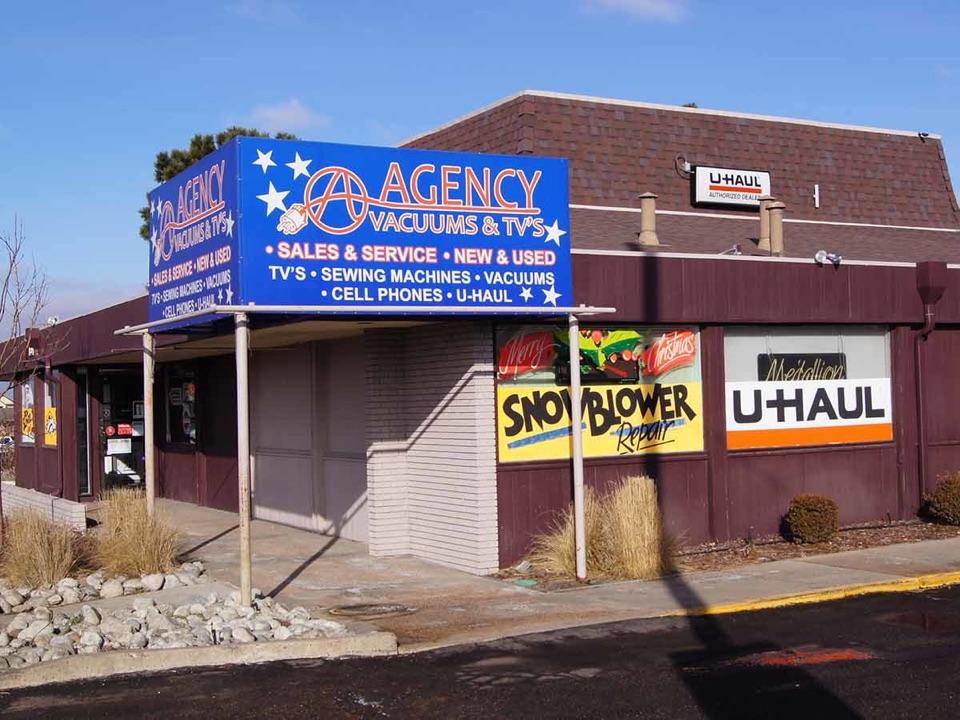 Agency Repair Shop outside view